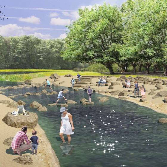 Eerste fase werkzaamheden Park de Twee Heuvels bijna afgerond