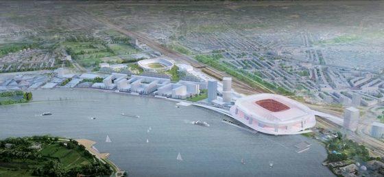 Ontwikkelconsortium Feyenoord City geselecteerd