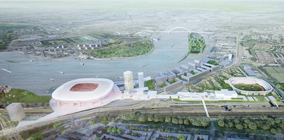 Meepraten over het nieuwe stadion?