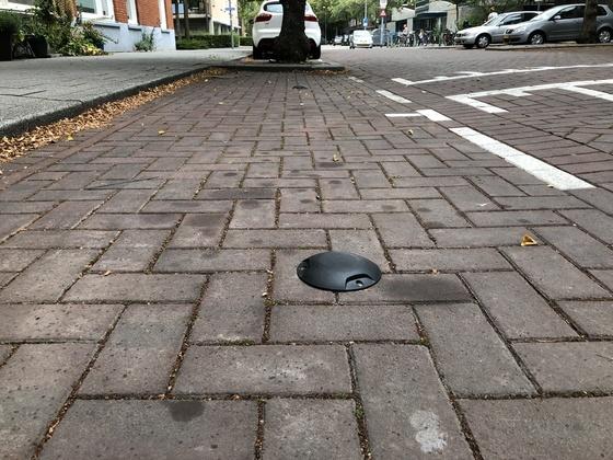 Sensoren in het wegdek